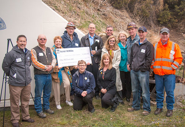 Freeport-McMoran Foundation Donates $1M to Mines
