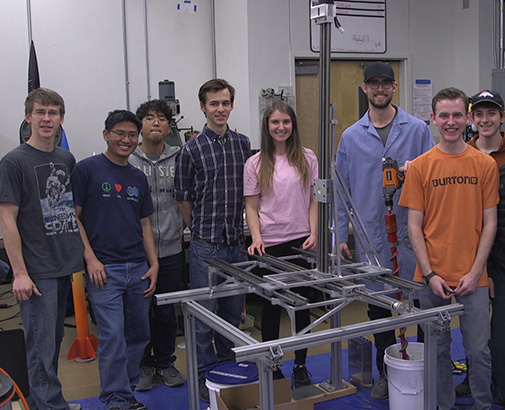 Mines Students Compete in NASA Challenge